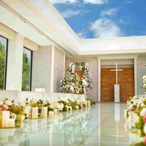 「空・光・水」をテーマにしたチャペル 青山迎賓館の写真(4673827)
