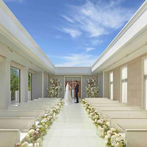 「空・光・水」をテーマにしたチャペル 青山迎賓館の写真(4673944)