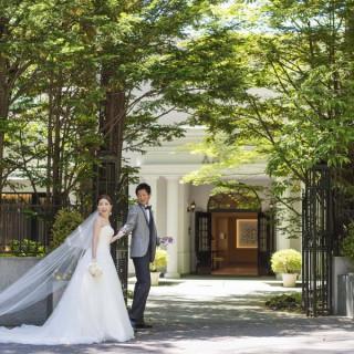 【夏のリゾ婚】=避暑地 軽井沢= ガーデンと一体の会場見学&試食