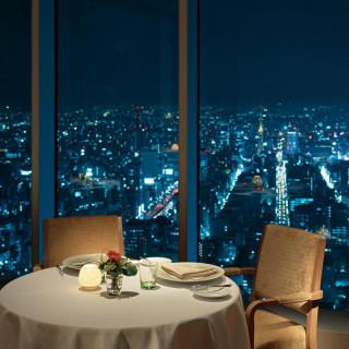 スペシャリテが自慢の注目フェア!夜景を見ながらの贅沢無料試食
