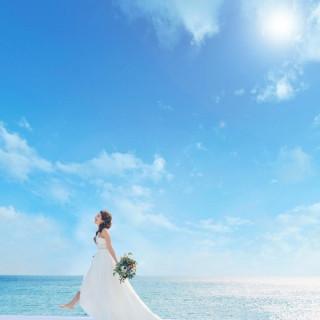 2組限定★【海を一望の邸宅】模擬挙式×フォアグラ・牛フィレ付