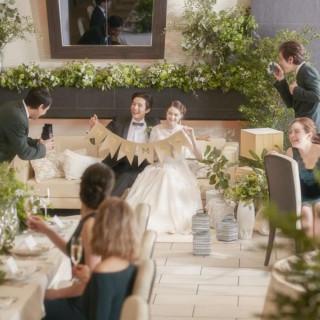 【美食堪能&最大120万相当の5大特典】結婚式ダンドリ相談会