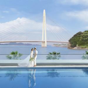 絶景!海を眺める2つのチャペル体験×豪華フルコース試食×ギフト券1万円