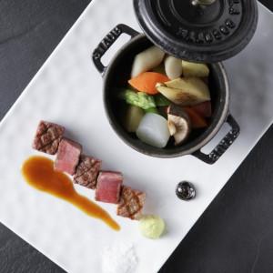 【土曜限定】ギフト付×贅沢A5ランク和牛&京野菜コース無料試食