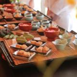 ゲストに人気の甘味ビュッフェ料亭には珍しい、専属パティシエが腕を振るいます