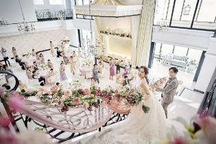 憧れの階段入場☆ アルカンシエル横浜 luxemariage アルカンシエルグループの写真(16515769)