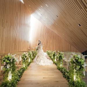 【全国の花嫁から大人気】森の大聖堂×スイーツ試食フェスタ