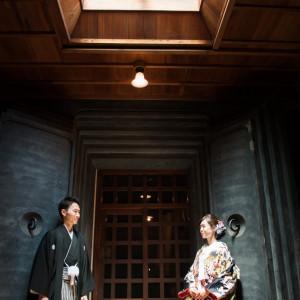 正面で並んでみたり。|三渓園 鶴翔閣(横浜市指定有形文化財)の写真(809887)