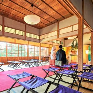 厳かな雰囲気で 三渓園 鶴翔閣(横浜市指定有形文化財)の写真(1309648)