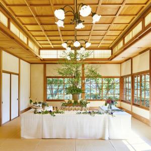 広い待合室|三渓園 鶴翔閣(横浜市指定有形文化財)の写真(1318515)