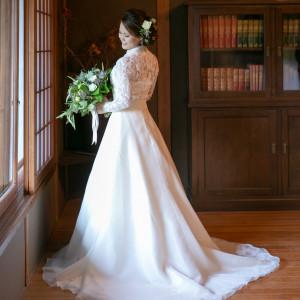 ドレスも着物も映える写真スポット|三渓園 鶴翔閣(横浜市指定有形文化財)の写真(4208994)