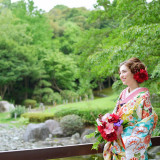和装の押したくもベテランの美容スタッフがいるから安心!日本ならではの美しさを体感してください♪