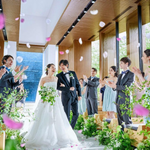 【ご夫婦の日限定】自然体Wedding♪チャペル模擬挙式体験×試食