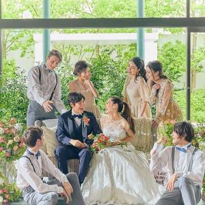 【1.8万円絶品試食】自然体Wedding♪緑溢れるガーデン×貸切邸宅