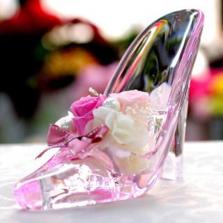 初めて見学!シンデレラのガラスの靴&ドレス10万円プレゼント