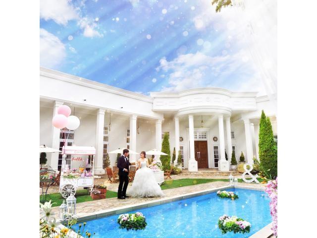 一日一組×完全貸切の2つの邸宅のチャペル&ガーデンがリニューアル完成!