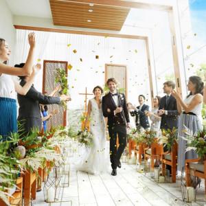 1組貸切W*最上階◆光溢れる洗練チャペル×美食フルコース試食