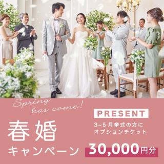 春婚キャンペーン