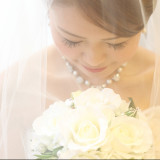 純白の花嫁様。