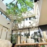 人気のガーランド×ラグジュアリーなソファは写真スポットとしても大活躍♪ガーデンの大きなツリーの枝に、おふたりのお写真を結んでも素敵ですよ♡