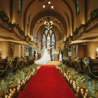 【挙式のみ挙げたい方へ】180年の時を越えた光の大聖堂見学会