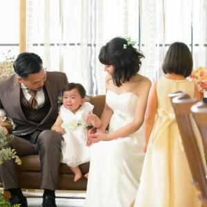 貸切だからこそできるお子様とのひと時 周りを気にすることなく お子様のペースで過ごせる|LA TABLE Aoyama(ラ ターブル アオヤマ)の写真(3809116)