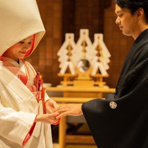【前撮り和装50%OFF】伊勢神宮を祀る神殿×日本庭園での和婚式