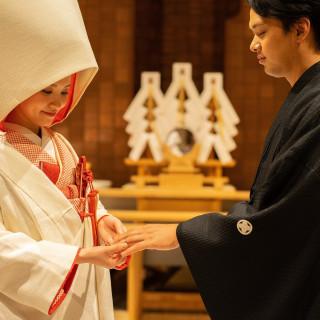 【前撮り和装50%特典】伊勢神宮を祀る神殿×日本庭園での和婚式