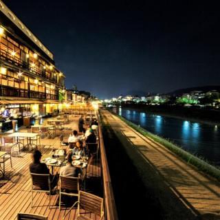 """残3席◆京の風物詩""""川床""""レストラン券付◆涼を感じる夏の特別試食会"""