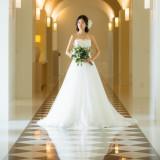 目の肥えた花嫁を一瞬にして魅了する贅沢な素材づかい
