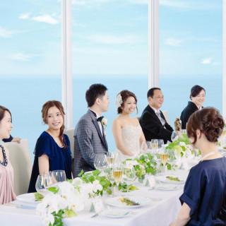 【土曜開催】美食と美景でおもてなし!少人数のレストランウェディング