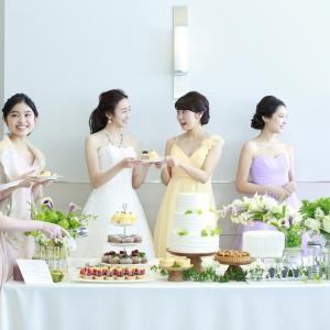 【卒花に大人気】人気ドレス試着×スイーツフルコース試食会