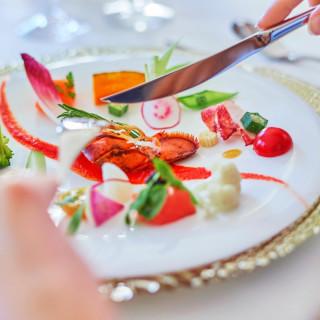 【希望時間OK】シェフ特製の特別試食会×ガーデン挙式体験