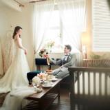 結婚式当日、おふたりにゆっくりとお過ごしいただく「ブライズルーム」