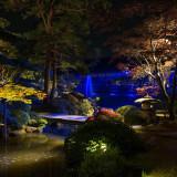 幻想的な雰囲気の日本庭園もお楽しみください