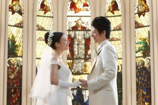 挙式~指輪交換・誓い~|Chapel &Dining by CASA DOLCEの写真(562293)