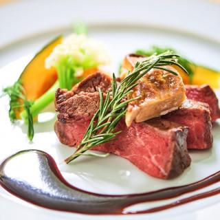 【料理重視の方へ】人気No1厳選牛フィレ肉&フォアグラ試食☆
