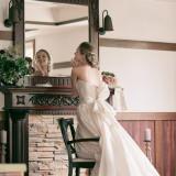 結婚式。人生で一番幸せな日
