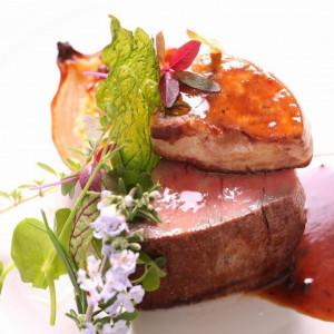 【当館人気NO,1】「和&洋」料理対決×貸切邸宅ウェディング