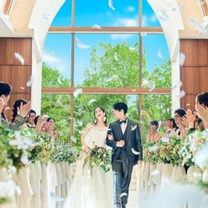 【15大特典&120万特典】緑溢れる森チャペル×ドレス体験×3万円試食