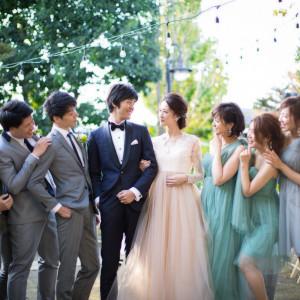 【ゲストと楽しむ結婚式】ドレス特典×サプライズ演出体験×1組貸切