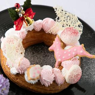 クリスマス限定☆専属パティシエ特製クリスマスケーキプレゼント♪