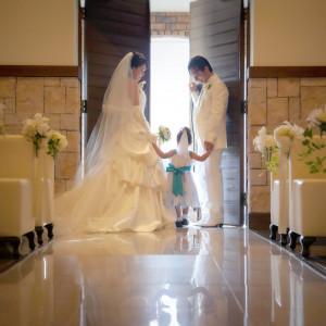 お子様との挙式も人気!|プレシャスガーデン セントクロワールの写真(5736076)