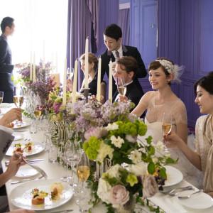 洗練された空間でかなえる美食パーティ