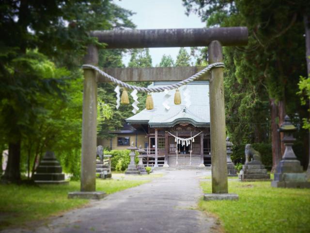 大館神明社と館内神殿「高砂」見学