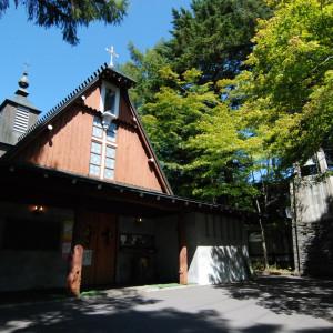 「聖パウロ教会で結婚すると多くの人たちから祝福される」作家・堀辰雄もそんな言葉を残しています|万平ホテルの写真(565455)
