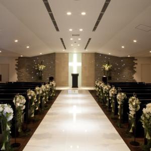 チャペル「アンジェラス」は最大100名様までOK!いままでお世話になった皆様に祝福していだたけます。|ホテル金沢の写真(617659)