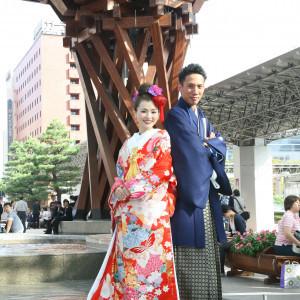 金沢駅前の鼓門も近いので記念撮影も可能です☆|ホテル金沢の写真(1696706)