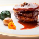 最上級仙台牛フィレステーキ・ロッシーニ風 フォアグラとトリュフソース