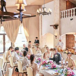 ゲストの笑顔がたくさんのアットホームな結婚式を叶えよう!|ディアズ水戸スパニッシュガーデンの写真(8821141)